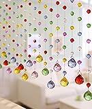 Fushing 5 Piezas De 30cm Multicolores Bolas De Cristal De