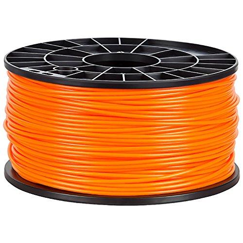 NuNus PP Filament 1KG für 3D Drucker (3.00mm, orange) Polypropylen Filament - Lebensmittelecht - Food Grade… (3d-food)