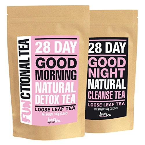Love superfood tea | processo di disintossicazione di 28 giorni | tè funzionale