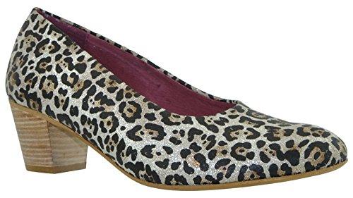 JJ Footwear Chaussures Femme en cuir Duisbourg Normal Zilber Leo Brillo