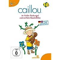 Caillou 18 - Im tiefen Dschungel und weitere Geschichten