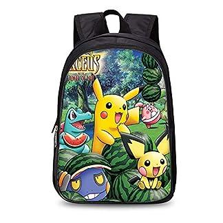 518%2BIqCTGhL. SS324  - Backpack Mochila para Niños para Niños Pokemon Kinder Schoolbags Mochila 3D (Mochila De Doble Capa De 35 Cm)