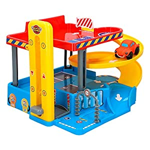 Motor Town - Garaje 2 niveles con 1 coche (46339)