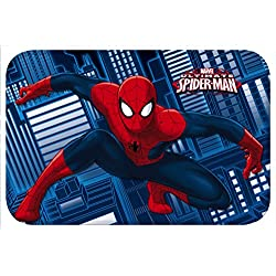 Star Licensing Marvel Spiderman Alfombra, poliéster, 40 x 60 x 1 cm