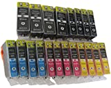 20 Druckerpatronen MIT CHIP für Canon Pixma MG 5100 5150
