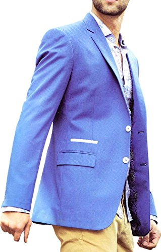 INMONARCH -  Blazer  - Uomo Sky Blue
