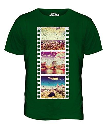CandyMix Liverpool Fotografischer Film Herren T Shirt Flaschengrün