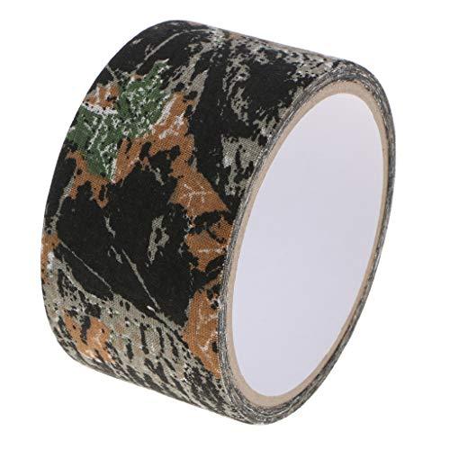 perfk Outdoor Klebeband Gewebeband Camouflage Isolierband selbstklebendes Schutzband für Kameras Objektive Fotografie Ausrüstung - Ahornblatt-Camouflage