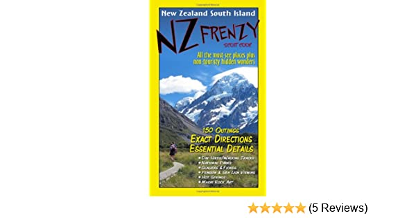 Karte Neuseeland Südinsel Zum Ausdrucken.Nz Frenzy New Zealand South Island Amazon De Scott Cook