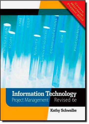 Information Technology Project Management, Revised (with Premium Online Content Printed Access Card) by Schwalbe, Kathy (2010) Paperback