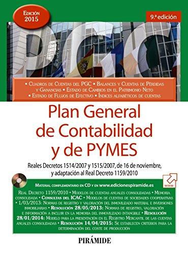 Plan General De Contabilidad Y De Pymes - Edición 8 (Economía Y Empresa)