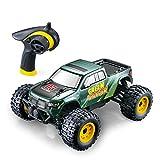 GPTOYS Control Remoto Coche Rápido 4 X 4 Off Road Electric RC Truck Hobby Grade 1/24 Scale - Regalo para niños y Adultos