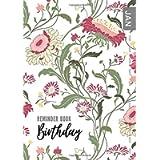 Birthday Reminder Book: A5 Medium Notebook for Recording Birthdays and Anniversaries | Monthly Index | Folk Style…