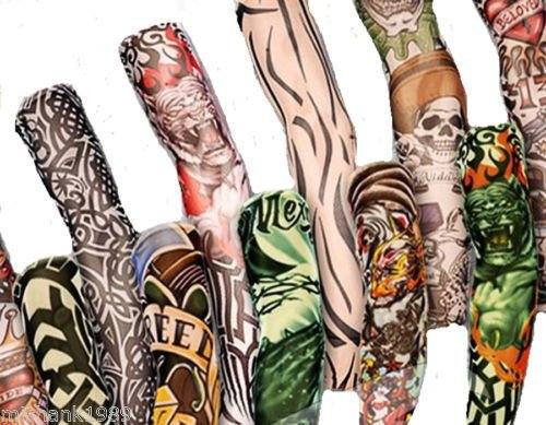 6 pack of high quality fun and funky nylson stretch cloth fancy dress costume fake arm art tattoo sleeves 6 Pack Of High Quality Fun And Funky Nylson Stretch Cloth Fancy Dress Costume Fake Arm Art Tattoo Sleeves 518 2BPKp0n5L
