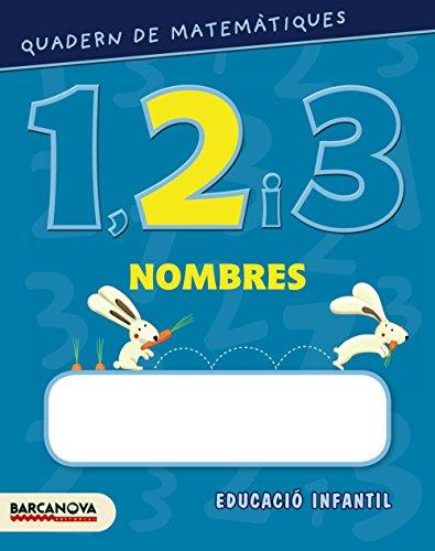 Quadern de matemàtiques 1, 2 i 3. Nombres 2 (Materials Educatius - Parvulari) - 9788448927554