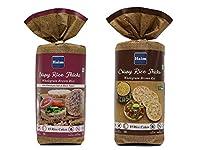Haim Wholegrain Brown Rice Cakes with Himalayan Salt & Black Pepper (Pack of 2)