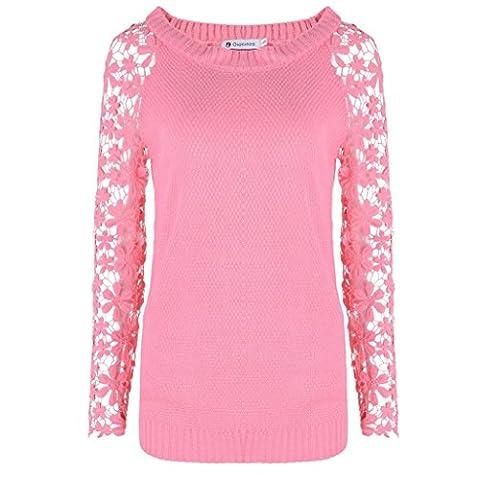 Xinantime - Sweat à capuche - Femme rose rose L