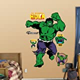 Fathead Classic Incredible Hulk Giant Wall Decal 96-96020
