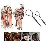 Gemini Mall® 2 Stück Topsy Tail Hair Geflochten Werkzeug Pferdeschwanz Maker Easy Styling Tool