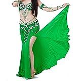BOBORA Donna Prestazioni Danza del Ventre Vestito Costume Gonna a Fessura