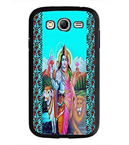 PrintDhaba Lord Ardhnareshwar D-5978 Back Case Cover for SAMSUNG GALAXY GRAND NEO (Multi-Coloured)