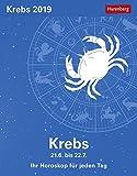 Krebs - Kalender 2019: Ihr Horoskop für jeden Tag - Robert Satorius