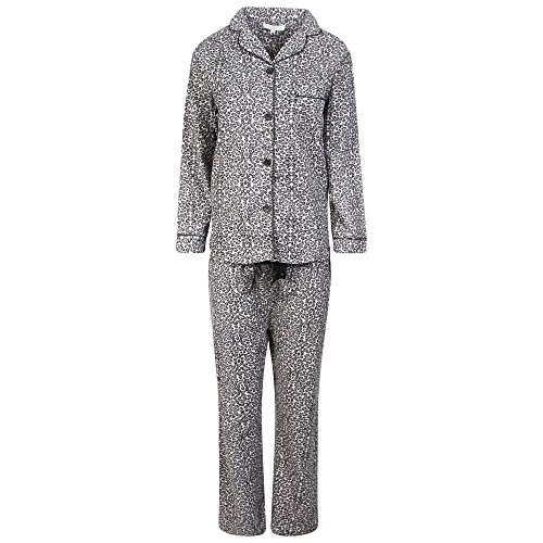 Abel Nightwear - Ensemble de pyjama - Femme Léopard gris