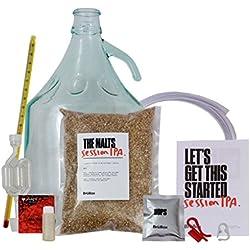 IPA Craft cerveza Kit de preparación del hogar por brübox. Premium all-grain balliihoo Homebrew Kit de cerveza con todo lo necesario–perfecto para los amantes de la cerveza–4,5litros.