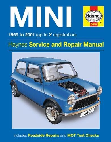 Haynes Mini 1969 to 2001 Up to X Registration (Haynes Service and Repair Manual) por John S. Mead