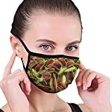 Mundmaske, Mundschutz für fleischfressende Pflanzen, Hygienemaske, Warmhalten bei Kälte, Schutz vor Staub, Keimen, Allergien, Rauch, Verschmutzung, Asche, Pollen für Männer, Frauen