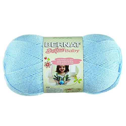 Bernat klein Acryl Softee Baby Ball von Garn, hellblau -