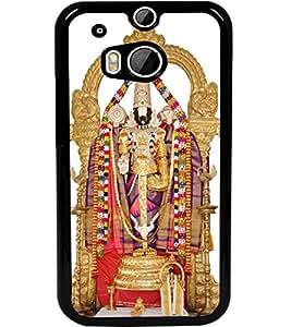 ColourCraft GOD Tirupati Balaji Design Back Case Cover for HTC ONE M8