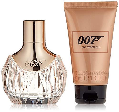 James Bond 007 Duftset for Woman II Eau de Parfum 30ml + Body Lotion 50ml, 1er Pack (1 x 80 ml)