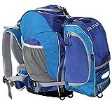 Cox Swain ergonomischer Schulranzen Schulrucksack Set 2 tlg. + Helmhalter und Regencape
