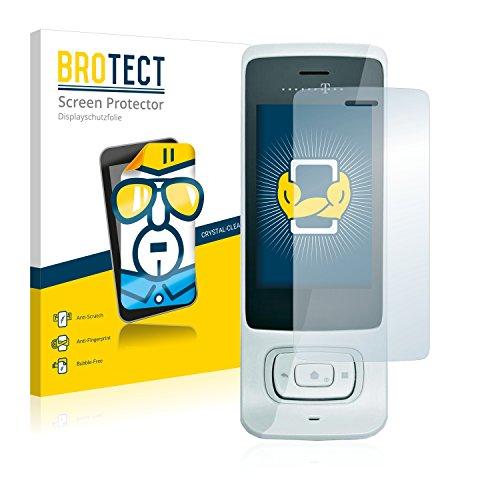 BROTECT für Telekom Speedphone 701 Schutzfolie [2er Pack] - klare Displayschutzfolie, Crystal-Clear