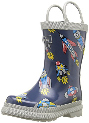 Hatley Retro Rocket Rainboots, Bottes garçon Gris (Gris)
