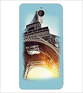 PrintDhaba Tower D-2243 Back Case Cover for LETV (LE ECO) LE 1 PRO (Multi-Coloured)
