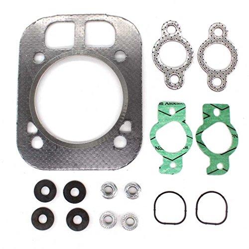 Aisen Tête cylindrique Joint de culasse Kit de réparation Kit Convient pour Kohler 24-841-04S 24-841-03S CH25 ch730 ch732 ch740 ch742 cv25 cv724 cv730 cv732 cv740 cv742 cv752 25 PS moteurs