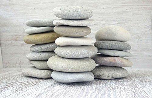 DIY Art Studio Zenstones/1kg Flache Steine/Sea Steine/Deko Steine/Kies/Mandala/Shell/Beach Stein/Art Stones/Beach Dekor/Beach Art