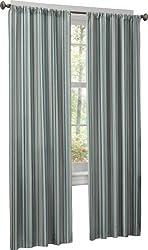 Maytex Bleecker Window 2-Pack Panels, Blue