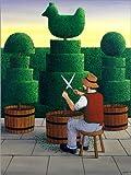 Impresión en metacrilato 90 x 120 cm: The Gardener de Larry Smart / Bridgeman Images