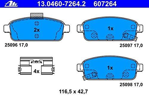 ATE 13.0460-7264.2 -  Kit Pastiglie Freno, Freno A Disco