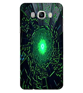 ColourCraft Abstract Image Design Back Case Cover for SAMSUNG GALAXY J5 (2016)