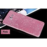 #8: Heartly Sparking Bling Glitter Crystal Diamond Protective Film Whole Body Phone Skin Sticker For Samsung Galaxy A7 (2016) - Cute Pink