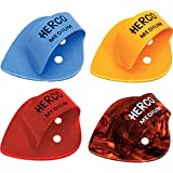 Dunlop FTP Herco Flat Thumbpicks (24 pieces) color sorted.extra heavy