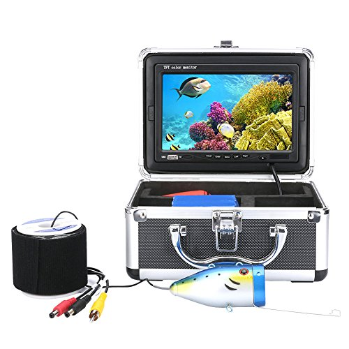 NELNISSA Nelissa Fischfinder, digital, LCD-Display, 1000 TVL, HD DVR - Digitale Lcd-dvr