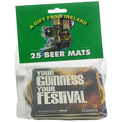 Traditionelle Irish Pub Beer Mats (25Stück)