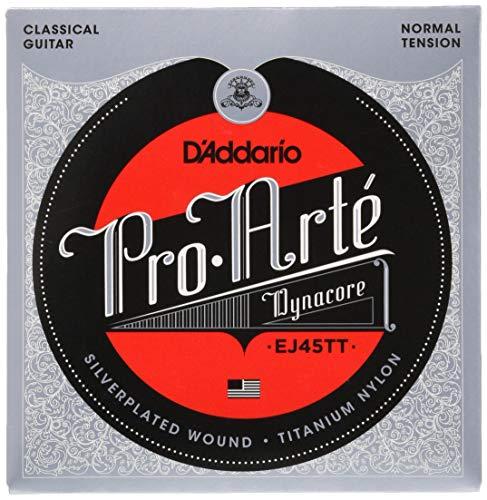 D'Addario EJ45TT Saitensatz ProArte Dynacore Titanium Trebles Normal Tension (Titan-gitarren-saiten)