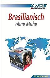 Assimil Brasilianisch ohne Mühe: Lehrbuch (Niveau A1 - B2) mit 544 Seiten, 100 Lektionen, über 250 Übungen mit Lösungen  ISBN: 978-3-89625-028-5
