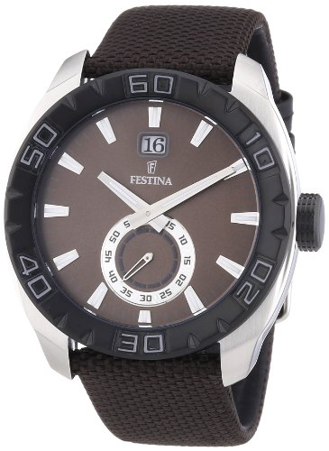 Festina Gents Watch XL Analogue Quartz F16674 Nylon / 3